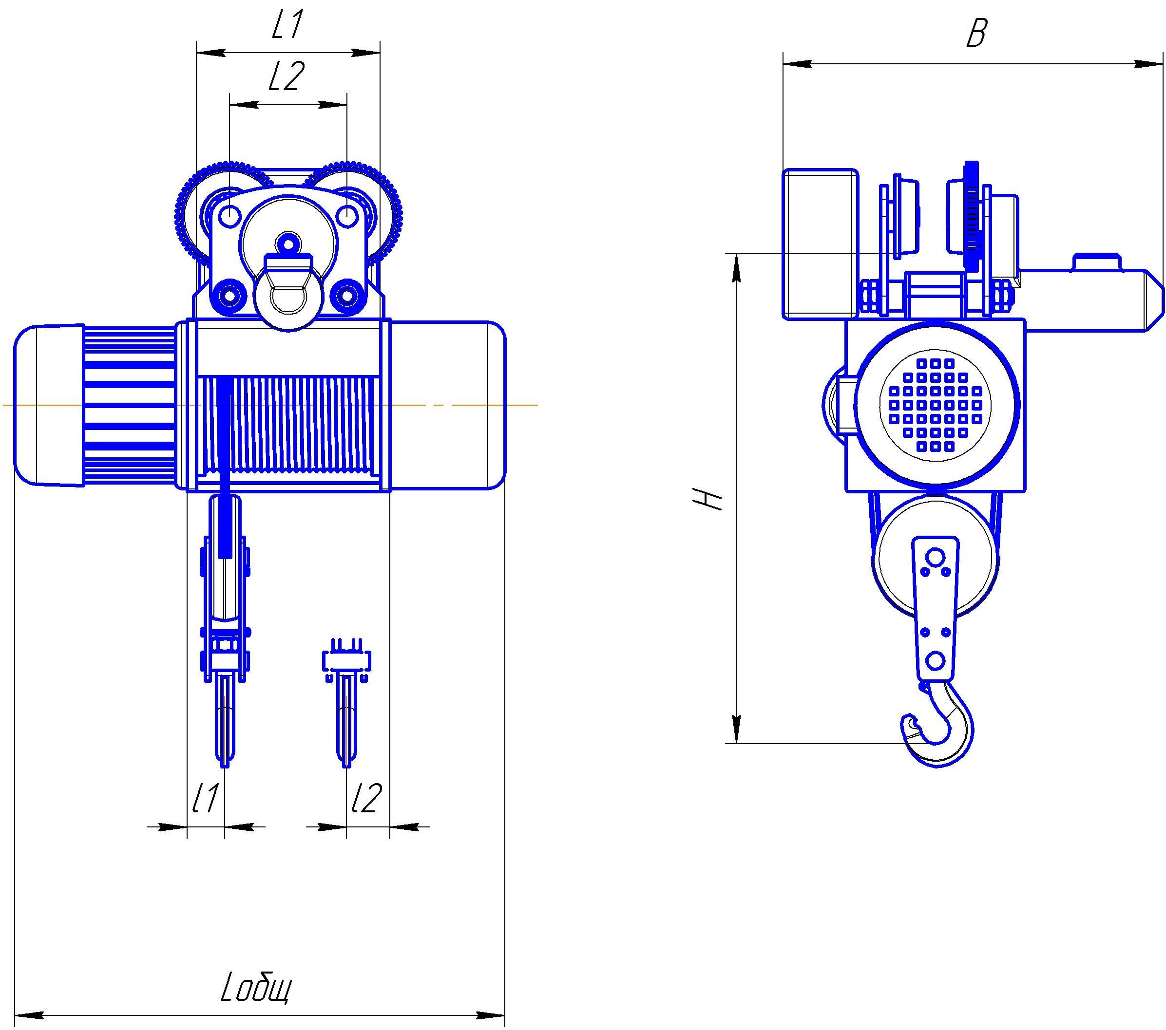 электрическая схема подъёмника умелец